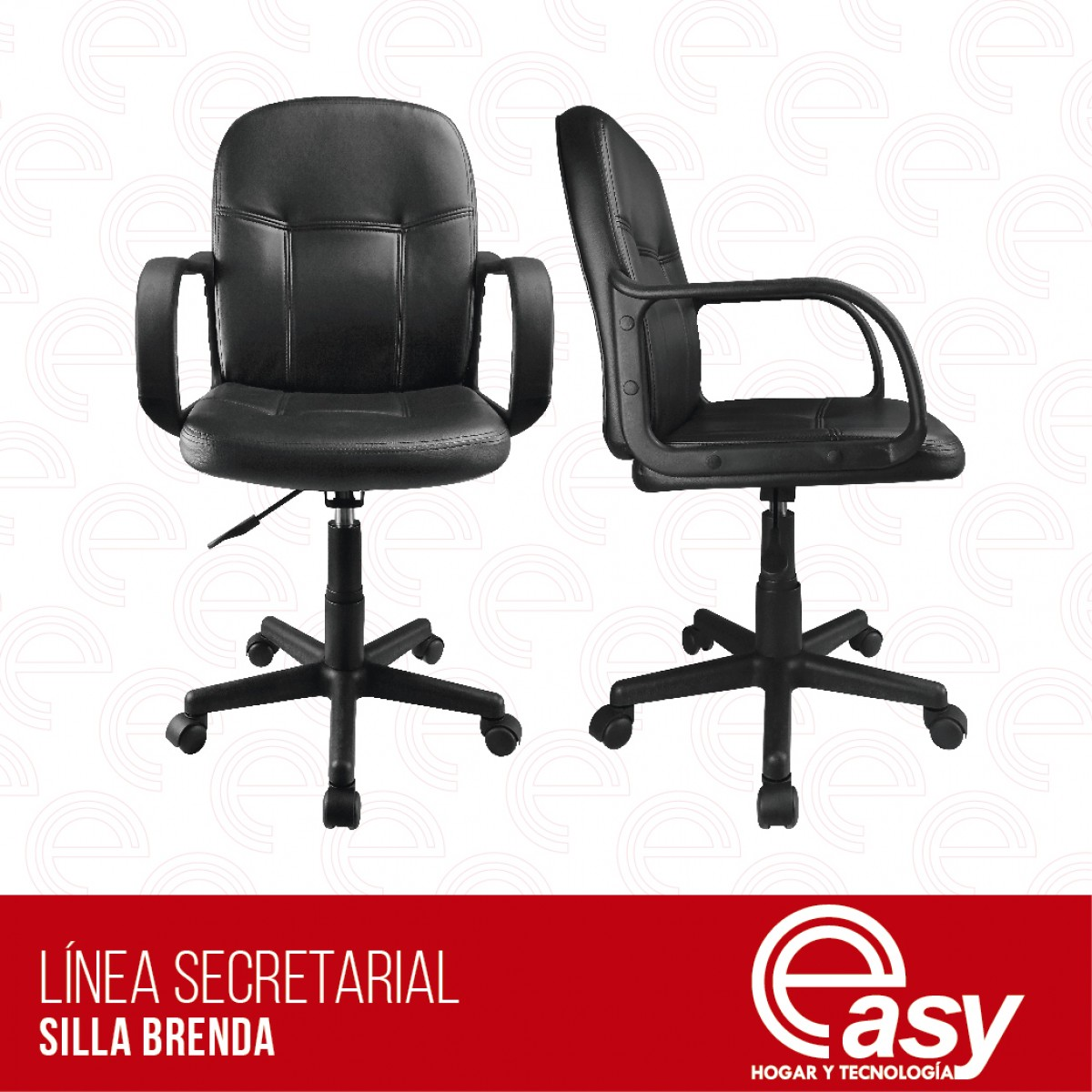Easy silla secretarial brenda easy for Silla secretarial